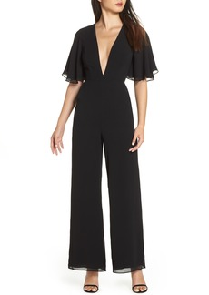 Fame and Partners The Colette Plunge Jumpsuit