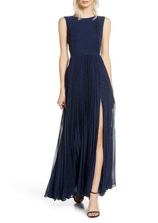 Fame and Partners The Luna Pleat Gown