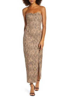 Fame and Partners The Martina Strapless Dress