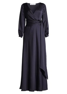 Fame and Partners The Casella Wrap Gown