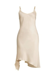 Fame and Partners The Serah Satin Slip Dress