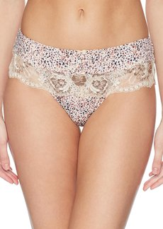 Fantasie Women's Aimee Thong with Premium Leavers Lace  L