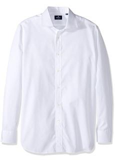 Façonnable Men's Size Faconnable Tall Club Fit Dress Shirt Long Length