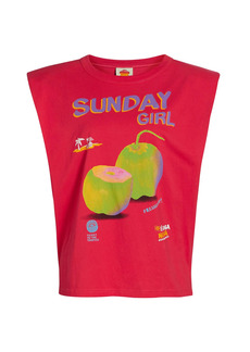 FARM Rio Sunday Girl Graphic T-Shirt