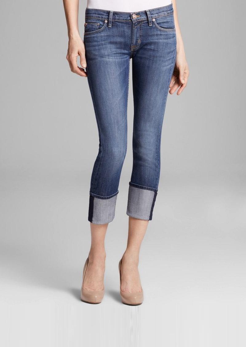 Hudson Jeans Hudson Muse Skinny Crop Jeans in Hackney