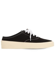 Fear of God 101 Backless Cotton Canvas Sneakers
