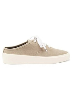 Fear Of God 101 backless canvas trainers