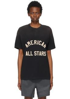 Fear of God Black 'All Stars' Henley T-Shirt