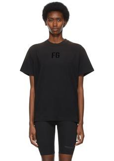 Fear of God Black 'FG' T-Shirt