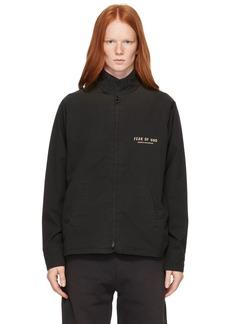 Fear of God Black Souvenir Jacket
