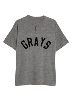 Fear of God Grays Baseball Henley (Nordstrom Exclusive)