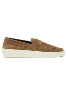 Fear Of God Suede boat shoes