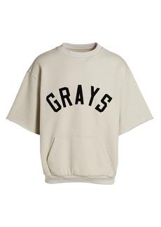 Fear of God Grays Three-Quarter Sleeve Sweatshirt