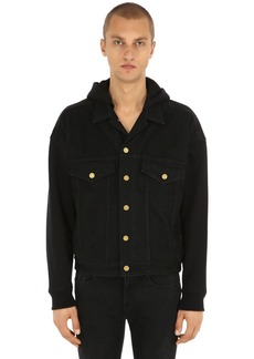 Fear of God Hooded Cotton Trucker Jacket