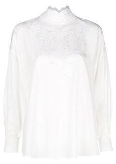 Fendi long-sleeve blouse