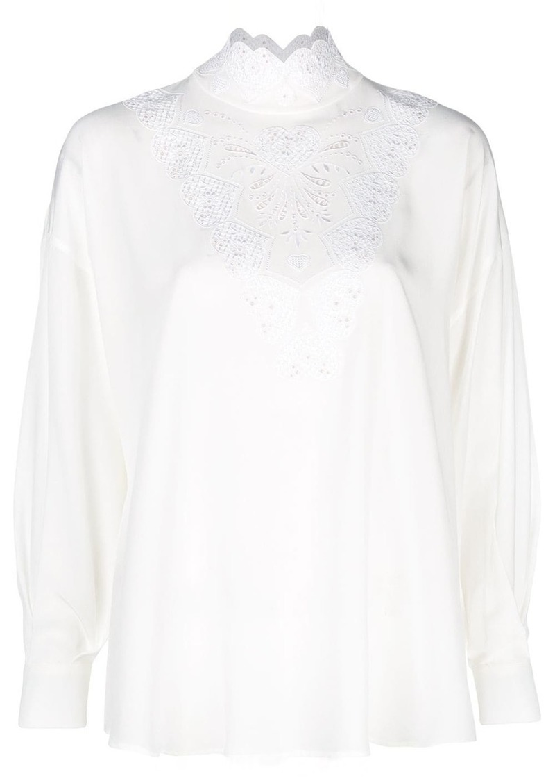 Fendi long-sleeve blouse