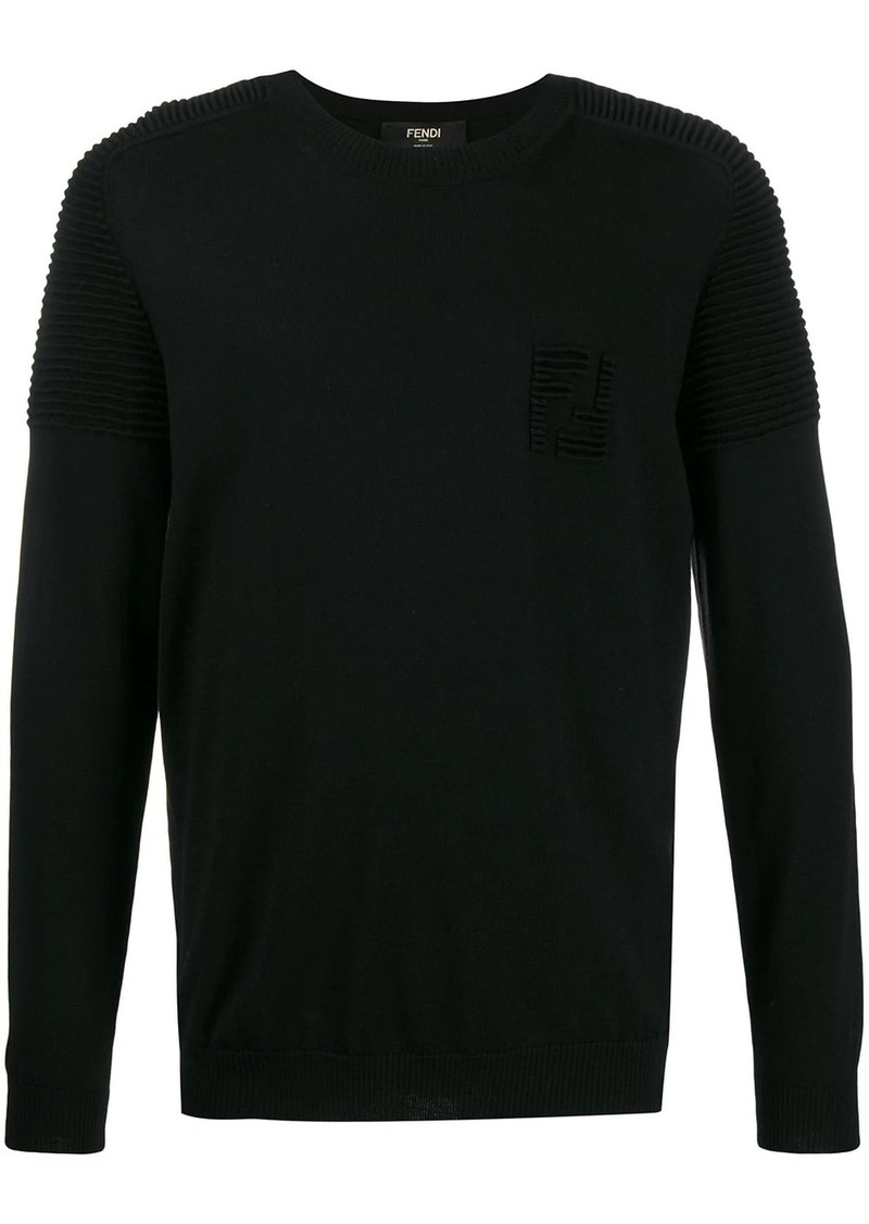 Fendi ribbed jumper