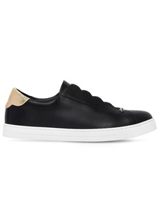 Fendi 20mm Leather Slip-on Sneakers