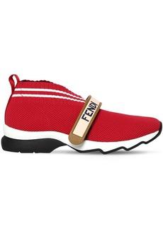 Fendi 30mm Logo Strap Neoprene Sneakers
