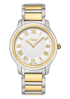 Fendi 40mm Men's Classico Bracelet Watch