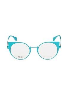 Fendi 48MM Round Optical Glasses