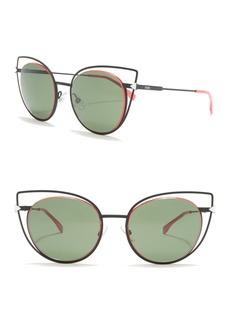 Fendi 53mm Cat Eye Sunglasses