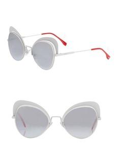 Fendi 54MM Cat Eye Sunglasses