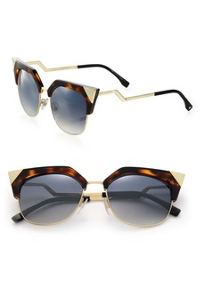 Fendi 54MM Metal Cat Eye Sunglasses