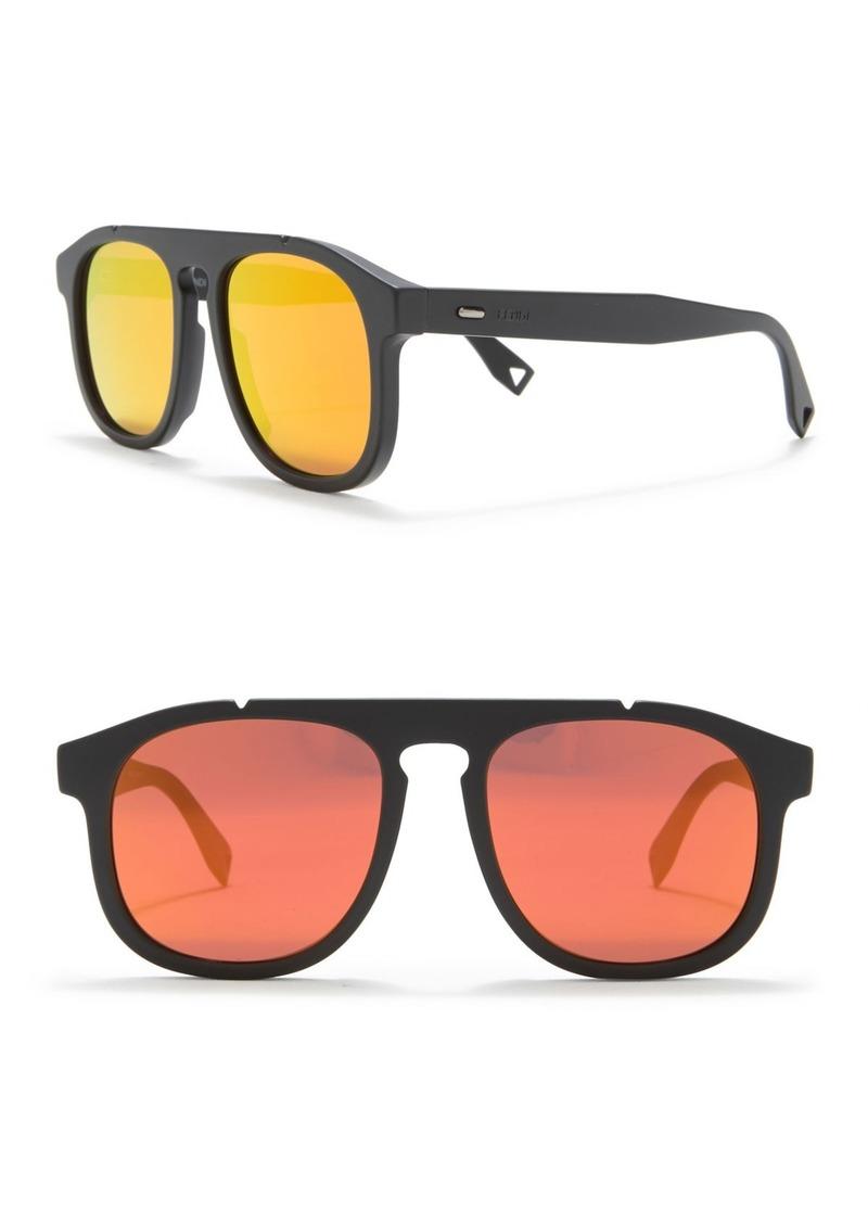 Fendi 54mm Modified Navigator Sunglasses