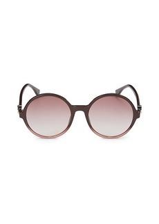 Fendi 55MM Round Sunglasses