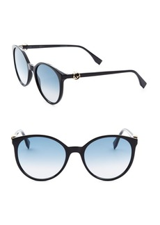 Fendi 56MM Round Sunglasses