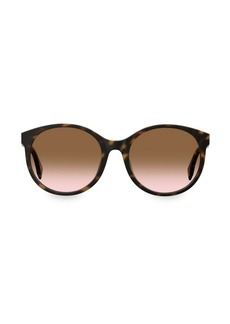 Fendi 56MM Round Sunglasses