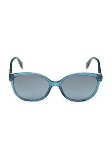 Fendi 57MM Cat Eye Sunglasses