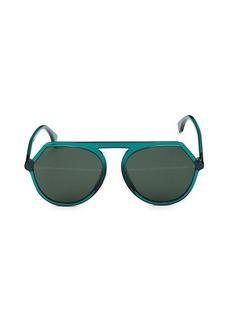 Fendi 57MM Geometric Sunglasses