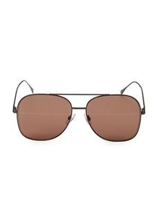 Fendi 59MM Aviator Sunglasses