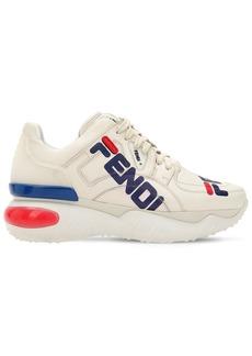 60mm Fendi Mania Leather Sneakers