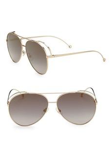 63MM Classic Aviator Sunglasses