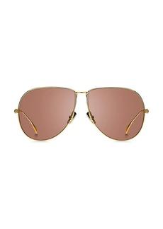 Fendi 63MM Pilot Sunglasses