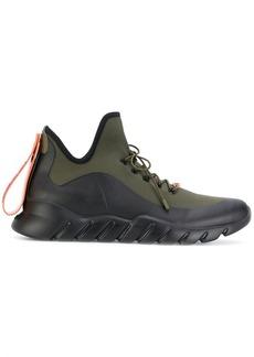 Fendi appliqué high-top sneakers