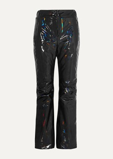 Fendi Appliqued Holographic Padded Ski Pants