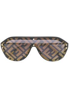 Fendi aviator FF print sunglasses