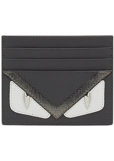 Fendi Bag Bugs-appliqué card holder