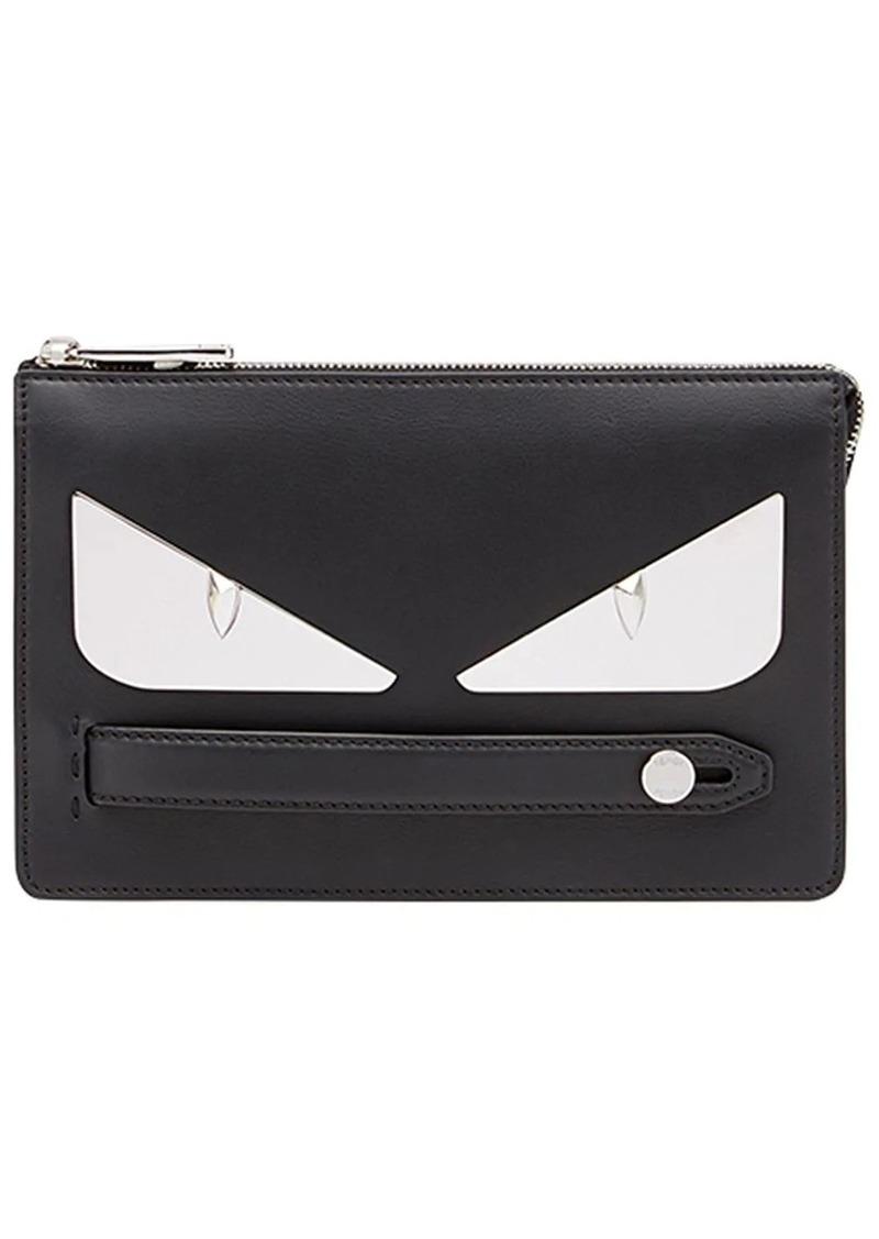 Fendi Bag Bugs-appliqué clutch