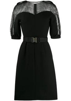 Fendi belted short sleeved dress