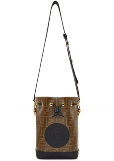 Black & Brown Small 'Forever Fendi' 'Mon Trésor' Bag