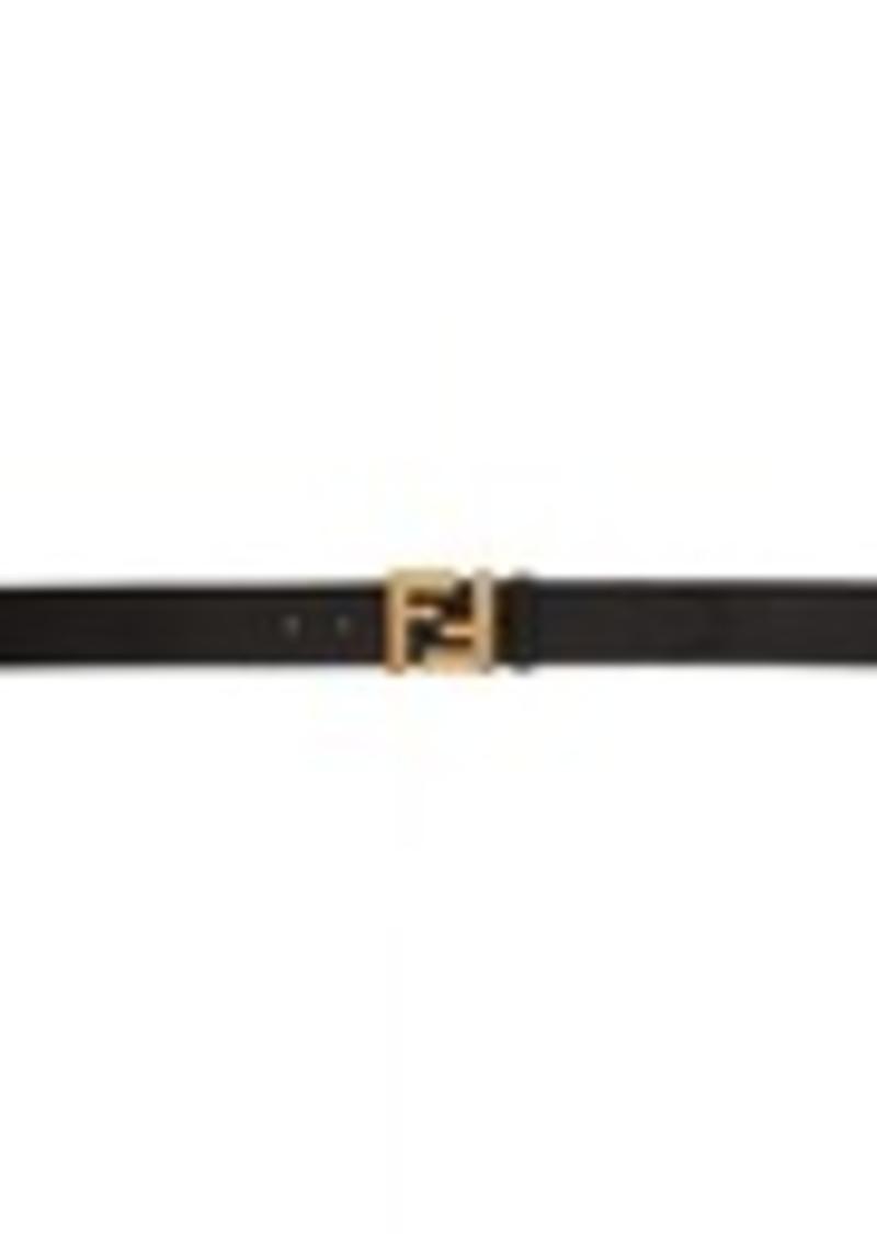 Black & Gold 'Forever Fendi' Belt