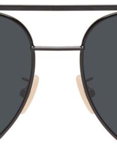 Fendi Black & Grey Aviator Sunglasses