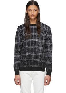 Black & Grey Wool 'Forever Fendi' Sweater