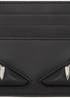 Fendi Black 'Bag Bugs' Card Holder
