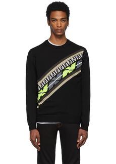Black Cashmere 'Forever Fendi' Sweatshirt